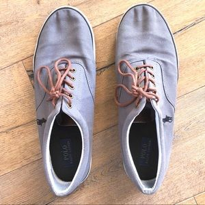 Polo by Ralph Lauren Grey Sneakers